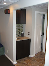 Photo: A look to the rear of the HT opens into a small hallway.  Bathroom and utility room access.