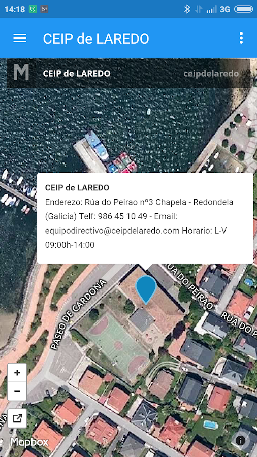 CEIP de LAREDO- screenshot