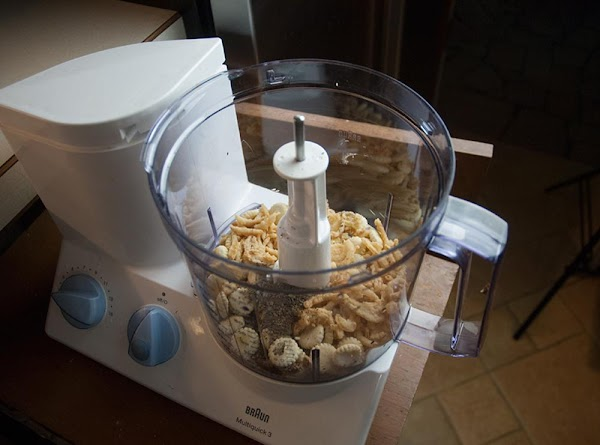 In the bowl of a food processor, fitted with an S-blade, combine the oyster...