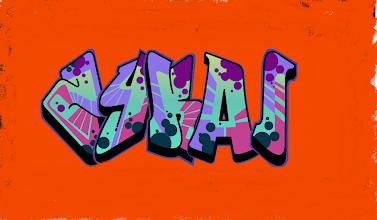 Photo: Zykai here it is...... your graffiti......