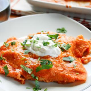 Entomatadas (Tomatoed Enchiladas)