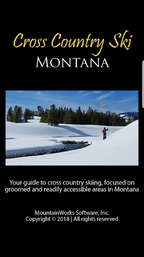 Screenshot for Cross Country Ski Montana in United States Play Store