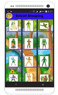 Buku Mewarnai Ultramen - náhled