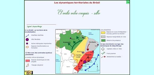 carte les dynamiques territoriales du brésil Croquis_BRESIL_Dynamiques Bac   Apps on Google Play