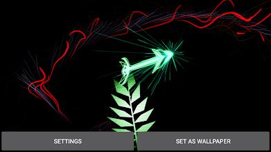 Gyro Arrow 3D Live Wallpaper screenshot thumbnail