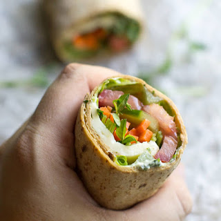 Ultimate Veggie Wrap.