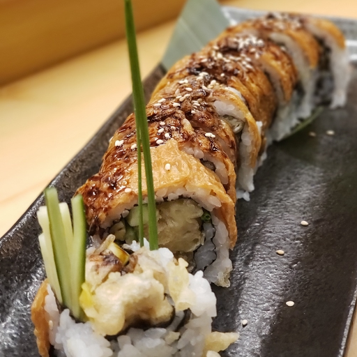 Veggie Dragon Maki