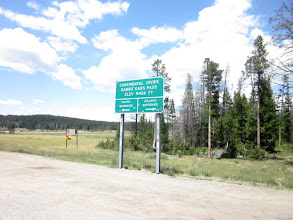 Photo: East side Rabbit Ears Pass. West side Rabbit Ears Pass is 8mile to go.