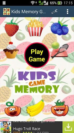 Kids Memory Game - เกมส์จับคู่