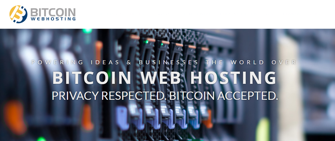 Bitcoin Web Hosting and crypto payments
