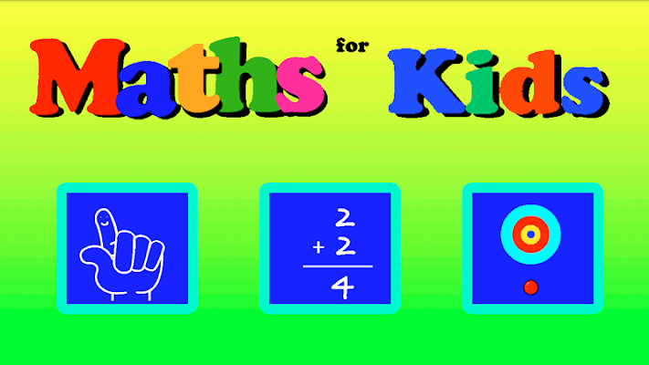 Maths for Kids - screenshot