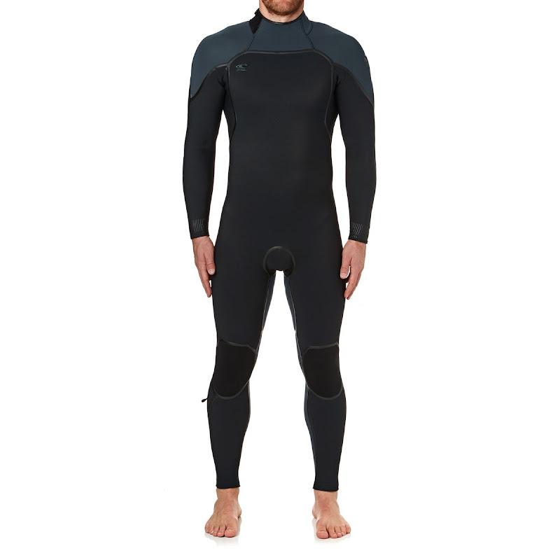 wetsuit man - O'NEILL Psycho fullsuit 5/4 - blue/black