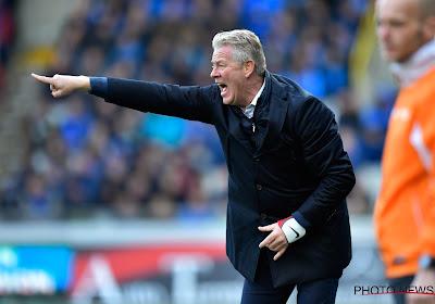 """Peter Maes tevreden over prestatie tegen Beerschot en : """"Een ploeg die thuis wint, degradeert niet"""""""