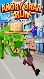 Angry Gran Run MOD Apk (Unlimited Coins/Stones) 1