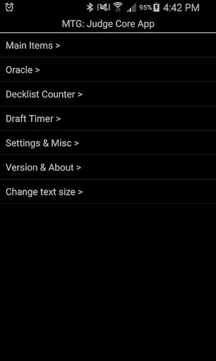 MTG Judge Core App 0.9655 screenshots 1