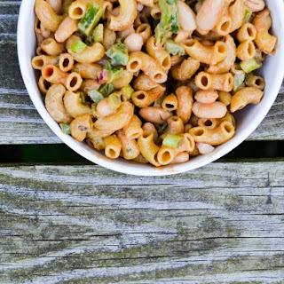 Tahini White Bean Pasta Salad