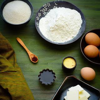 Saffron Butter Cake.