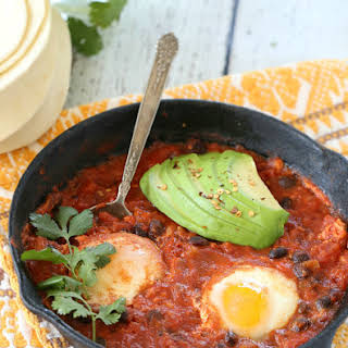 Mexican Poached Eggs.
