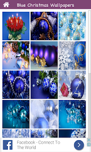 Blue Christmas Wallpapers in HD - Beautiful 4 2017 - náhled