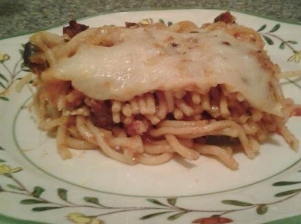 Baked Spaghetti With Ricotta Cheese Recipe