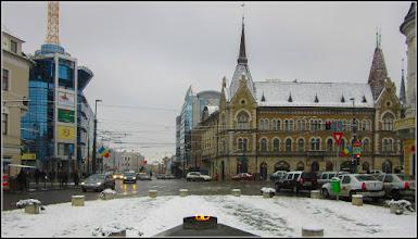Photo: Str. Regele Ferdinand, intersectie cu Piata Mihai Viteazul si cu Str. George Baritiu - 2018.01.22