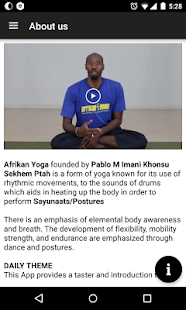 Afrikan Yoga by Pablo Imani- screenshot thumbnail