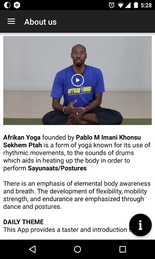 Afrikan Yoga by Pablo Imani- screenshot