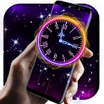 Running Clock Live Wallpaper Icon