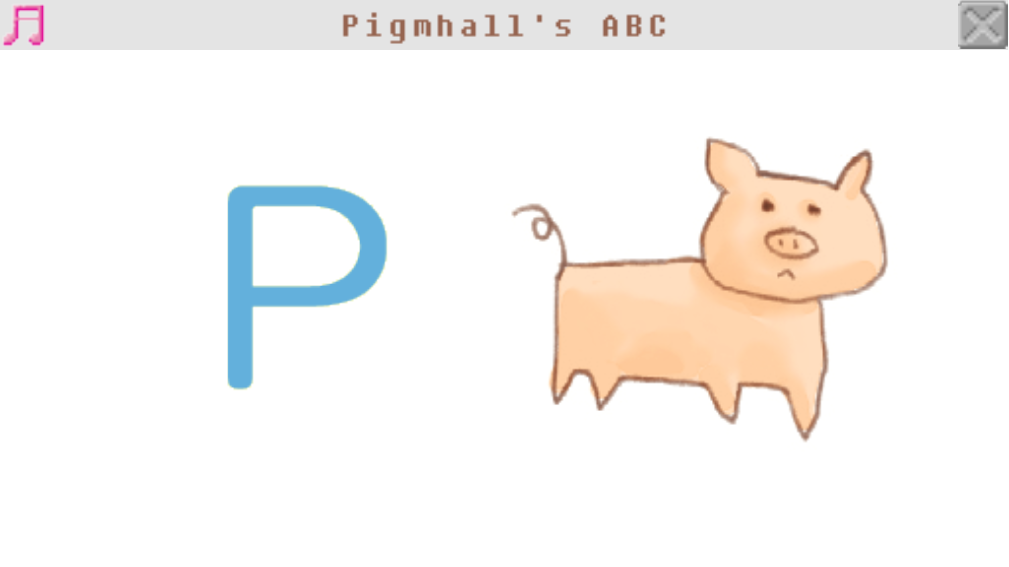 Pigmhall's ABC- screenshot