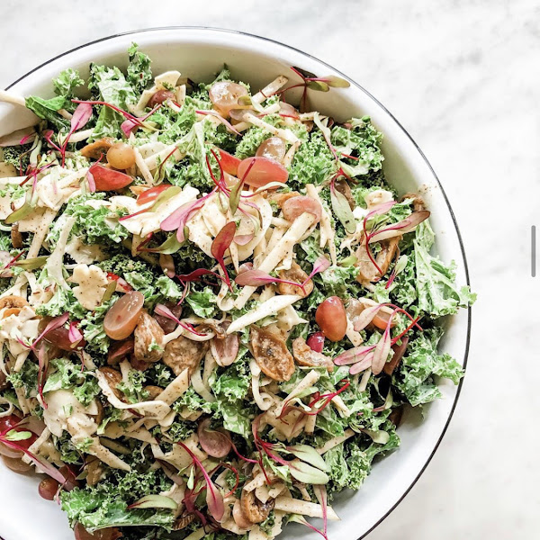 Lots of daily salads to choose from!