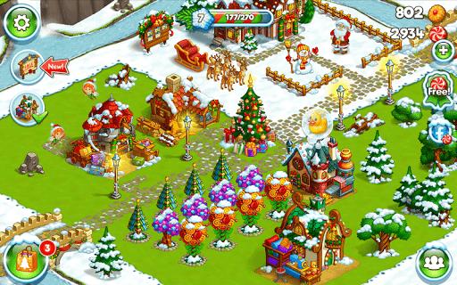 Farm Snow: Happy Christmas Story With Toys & Santa 1.48 screenshots 8