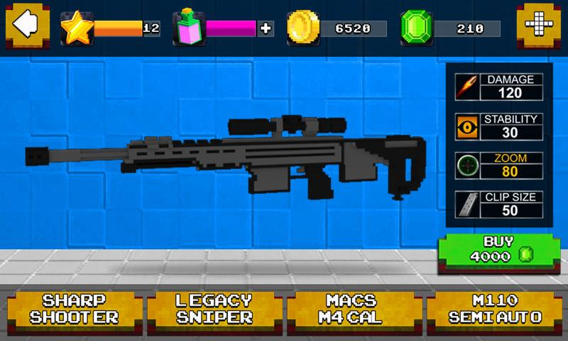 Sniper Craft 3D- screenshot