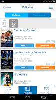 Screenshot of Cineplanet