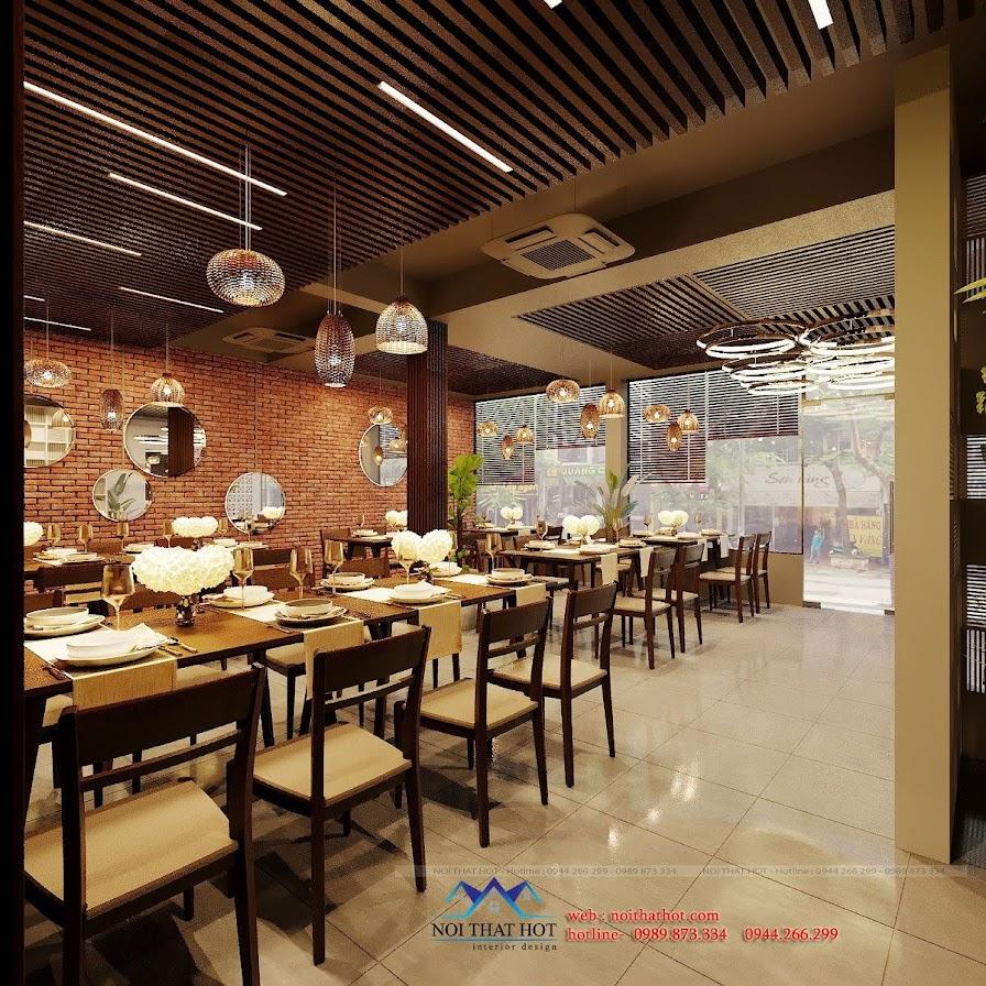 thiết kế nhà hàng long vũ 6