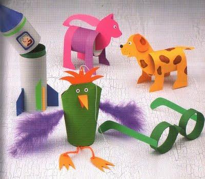 Atividades de Artes Para Educação Infantil Com Materiais Recicláveis