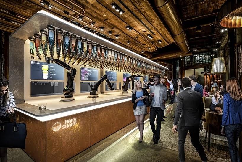 El nuevo barman robótico para el mercado masivo a través de compra o alquiler