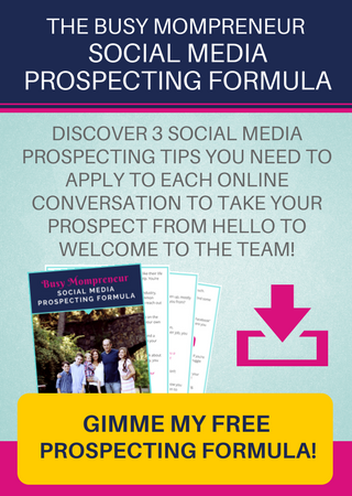 Click here to get my Prospecting Formula!