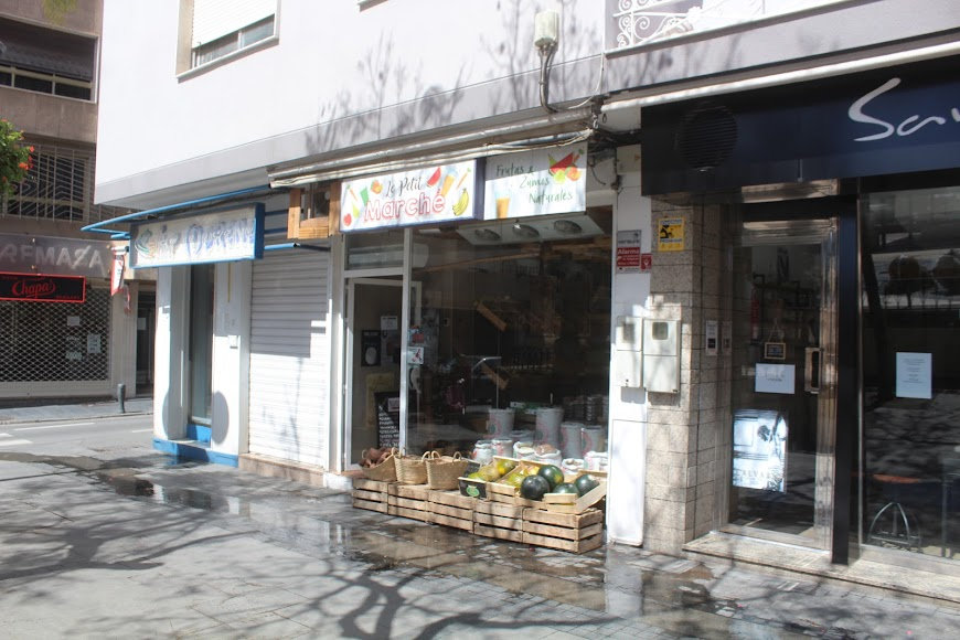 Frutería en Plaza de San Pedro.
