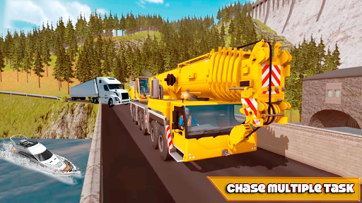 Crane Real Simulator Fun Game 2020  screenshots 1