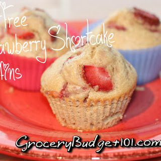 Guilt Free Strawberry Shortcake Muffins.