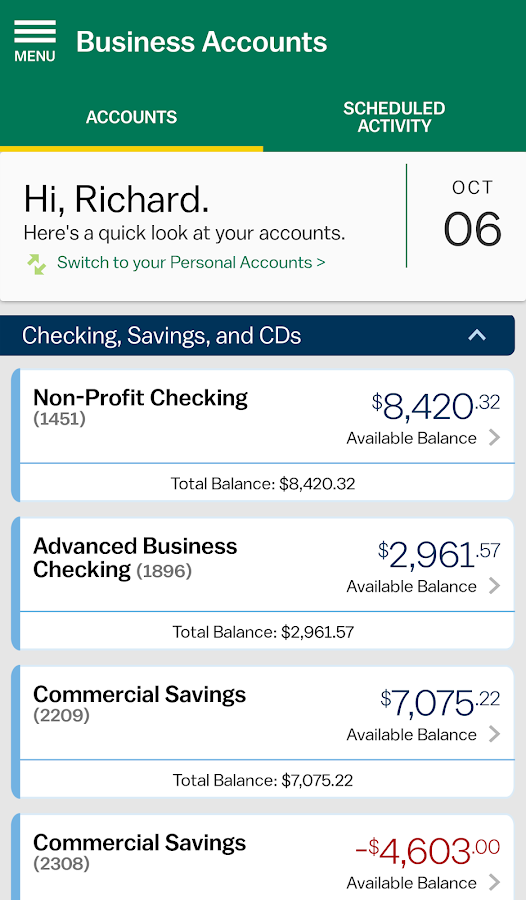M&T Mobile Banking- screenshot