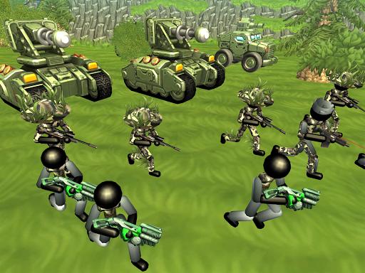 Stickman Tank Battle Simulator 1.06 screenshots 10