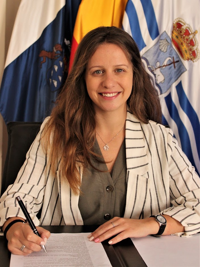 Cuarta Teniente de Alcalde Dª. Eulalia Toledo Hernández