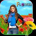 Flower Cut Paste Photo Editor icon