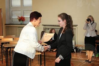 Photo: DEN 2013 - podziękowanie dla najlepszych uczniów