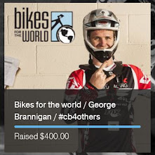 Photo: Partnering with Crank Brothers and George Brannigan