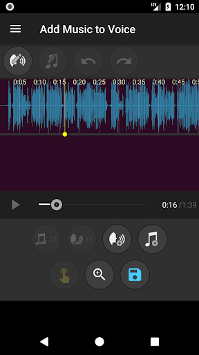 Add Music to Voice 1.7 screenshots 2