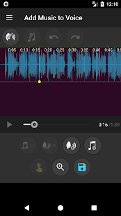 Add Music to Voice Screenshot