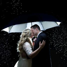 Rain by Lood Goosen (LWG Photo) - Wedding Bride & Groom ( love, bride, couple, groom, wedding photography, wedding photographer, bride groom, weddings, wedding day, wedding photographers, wedding )