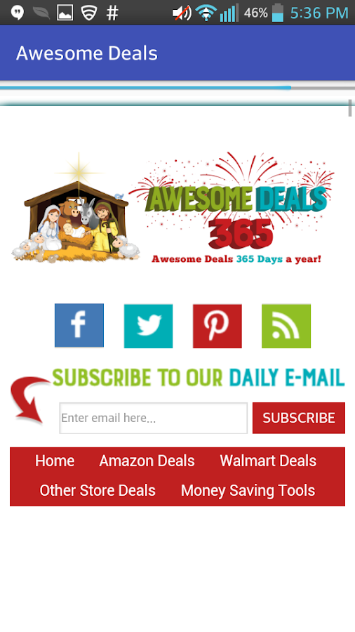 Awesome Deals 365- screenshot